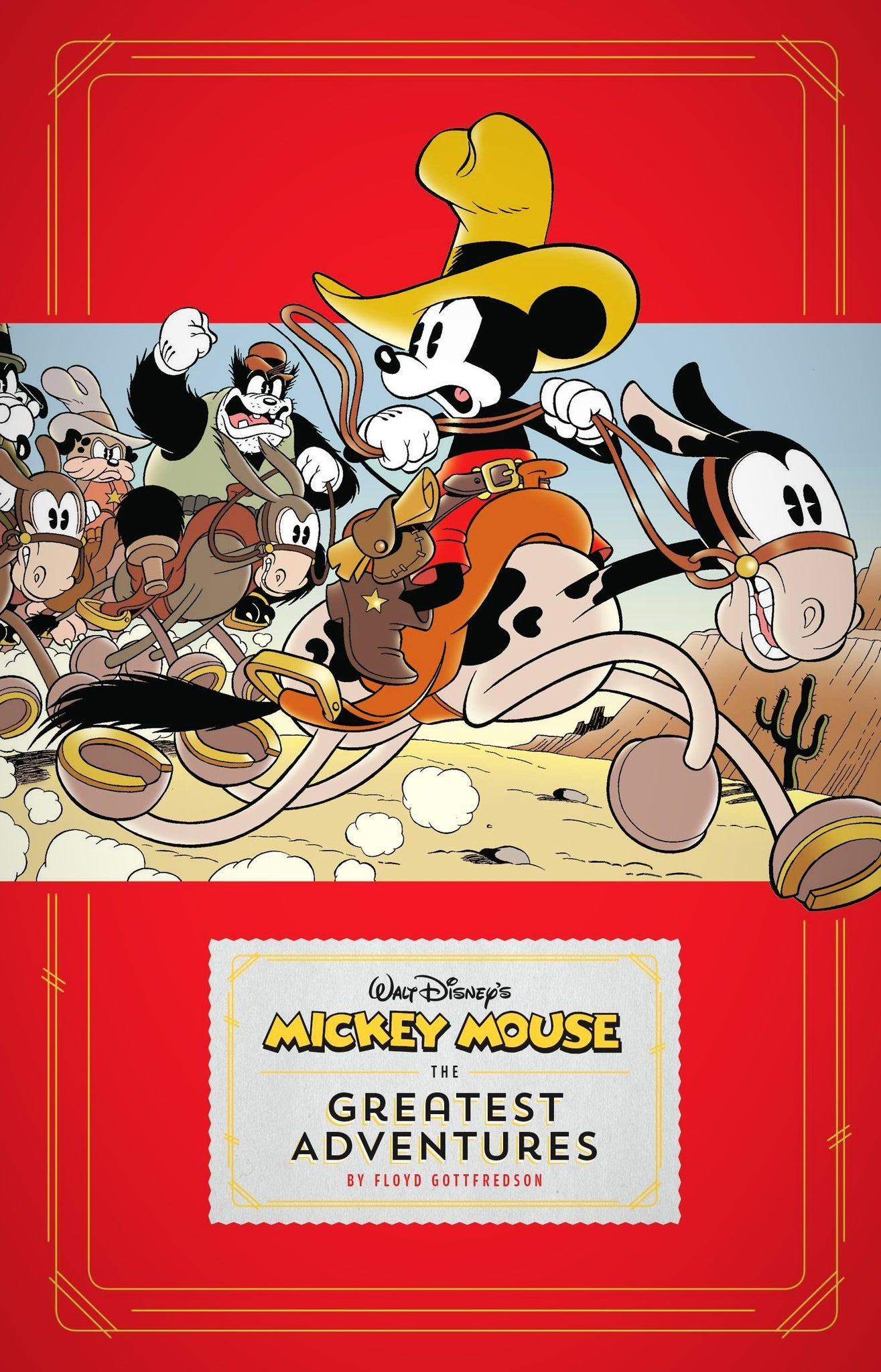 Mickey Mouse: The Greatest Adventures HC