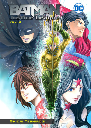 Batman & the Justice League Manga Volume 2