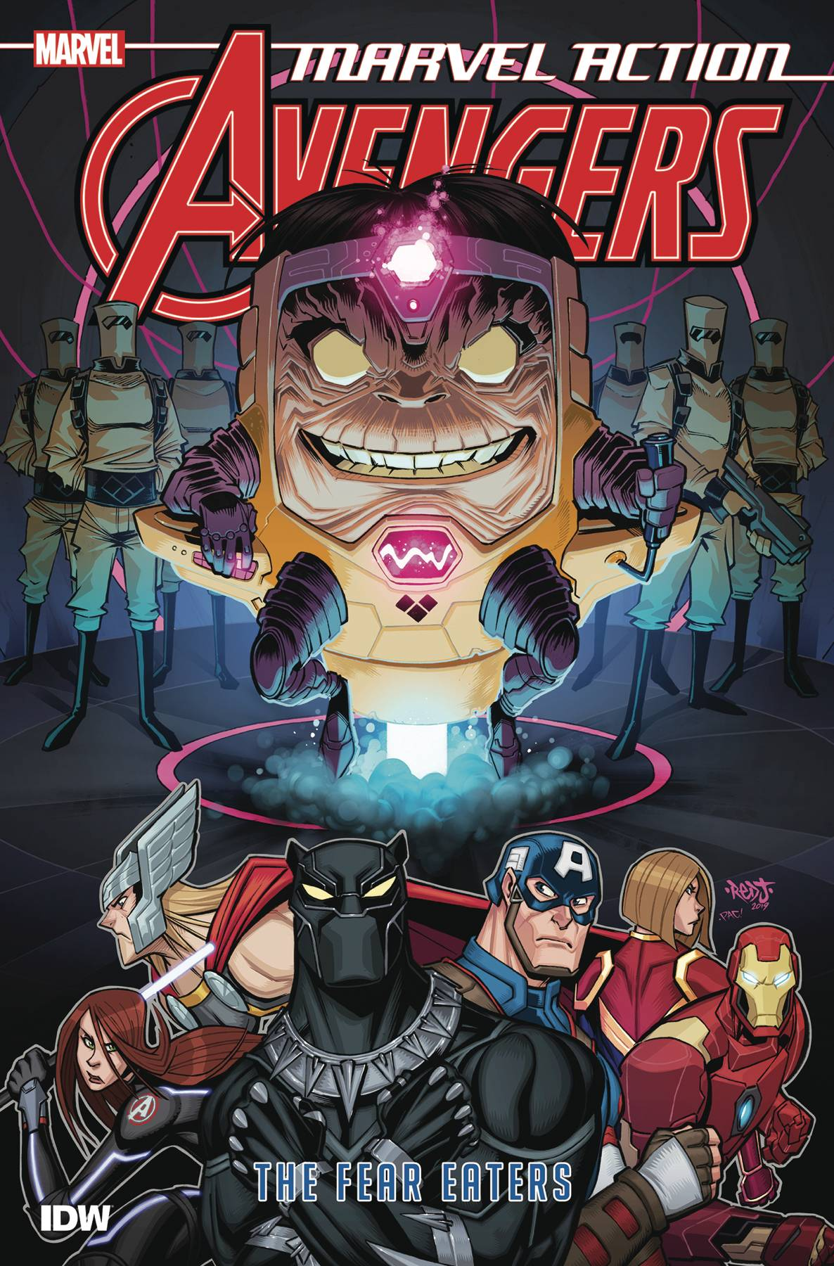 Marvel Action: Avengers (2018) Book 3 - The Fear Eaters