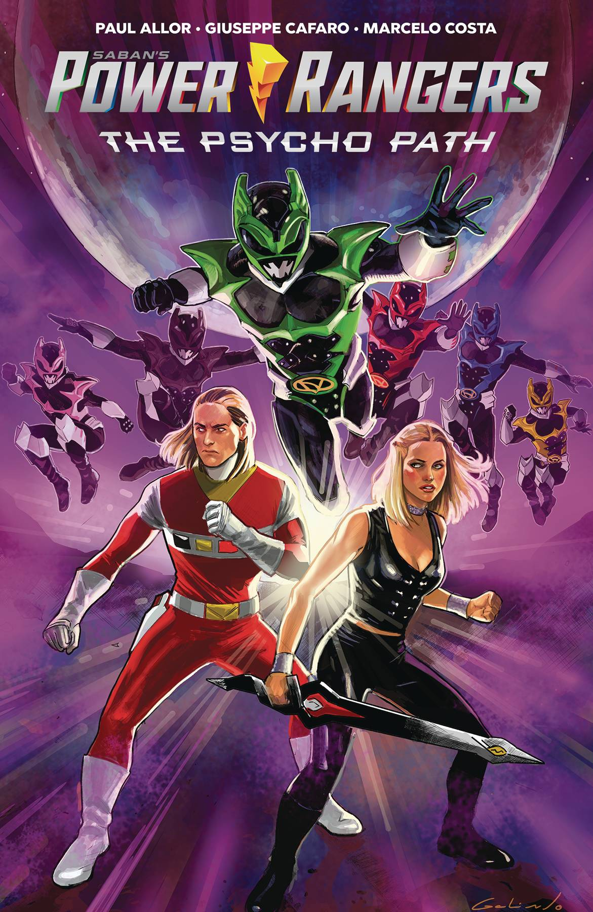 Power Rangers: The Psycho Path - Original Graphic Novel