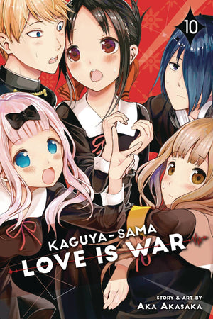 Kaguya-sama: Love is War Volume 10