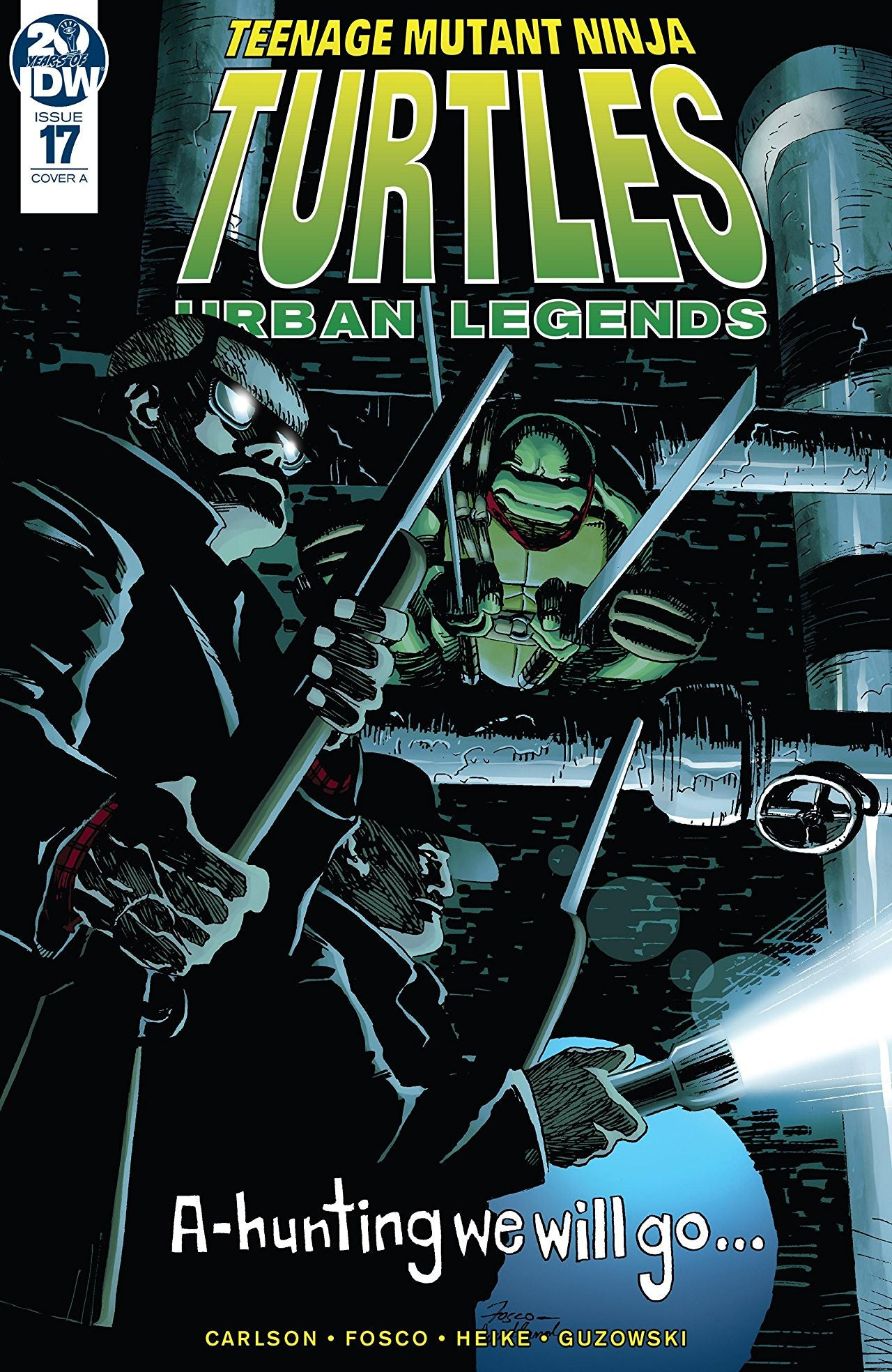 Teenage Mutant Ninja Turtles: Urban Legends #17