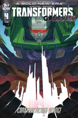 Transformers Galaxies (2019) #04 Sara Pitre-Durocher Cover
