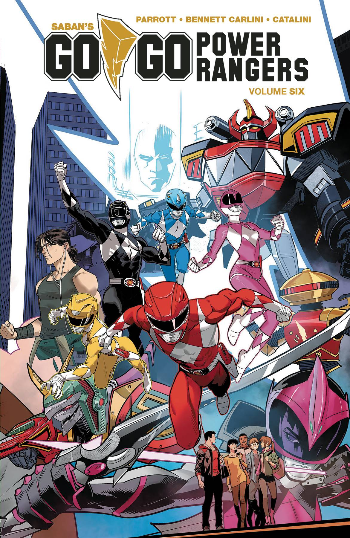 Go Go Power Rangers Volume 6