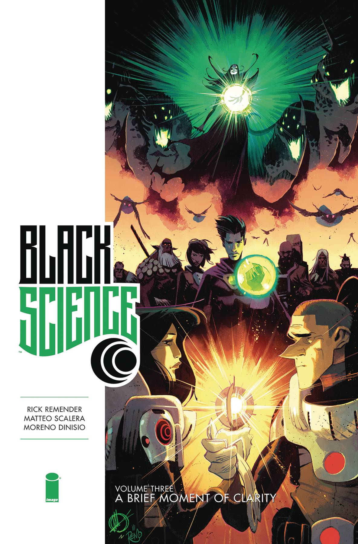 Black Science Book 3: A Brief Moment of Clarity HC