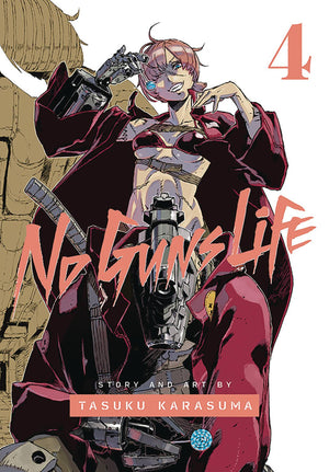 No Guns Life Volume 4