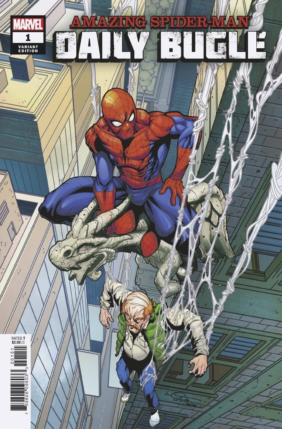 Amazing Spider-Man: Daily Bugle (2020) #1 (of 5) Logan Lubera Cover