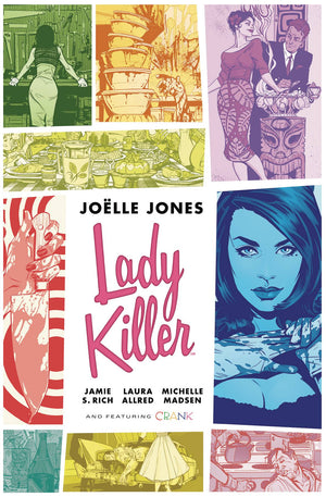 Lady Killer Library Edition Volume 1 HC