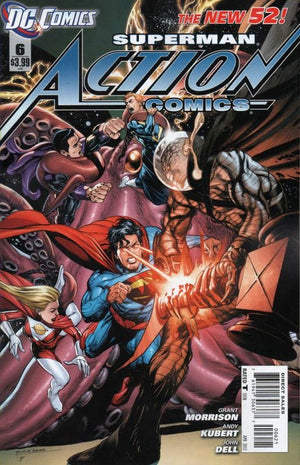 Action Comics (The New 52) #06 Variant