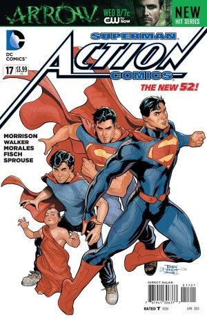 Action Comics (The New 52) #17 Variant
