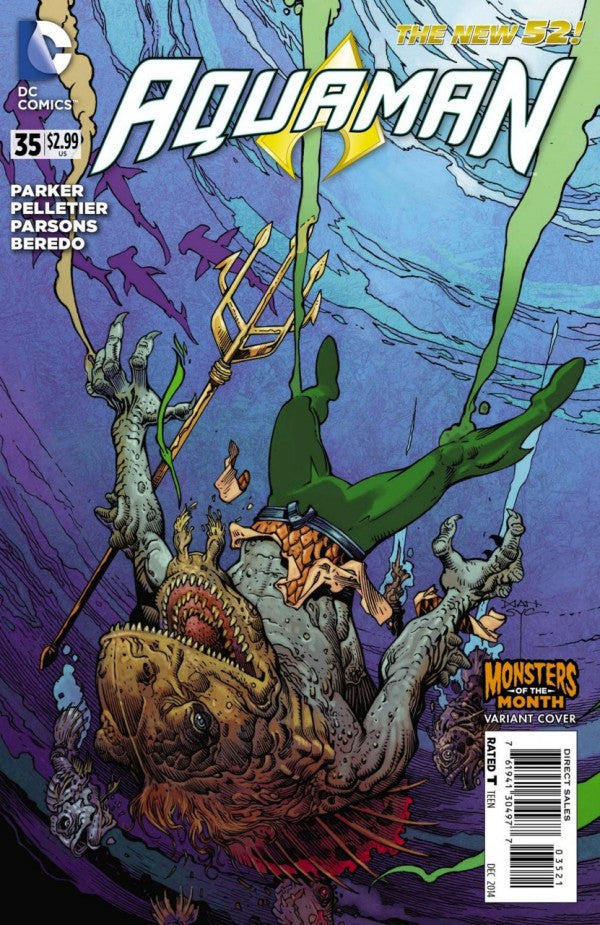 Aquaman (The New 52) #35 Variant