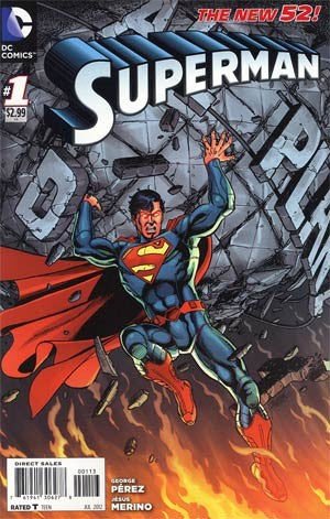 Superman (The New 52) #01 3rd Print