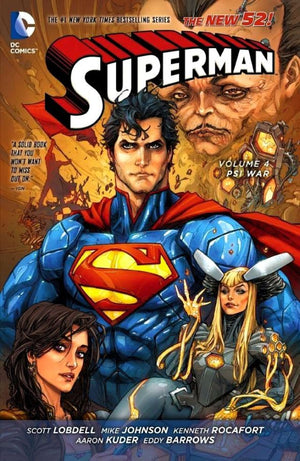 Superman (The New 52) Volume 4: Psi War
