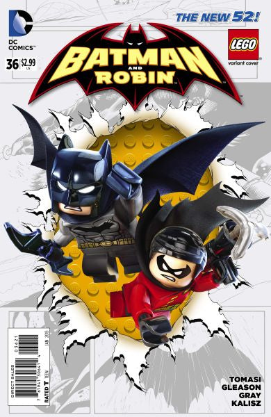 Batman and Robin (The New 52) #36 Lego Variant