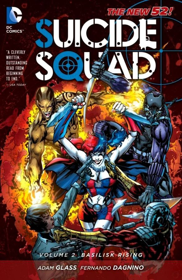 Suicide Squad (The New 52) Volume 2: Basilisk Rising