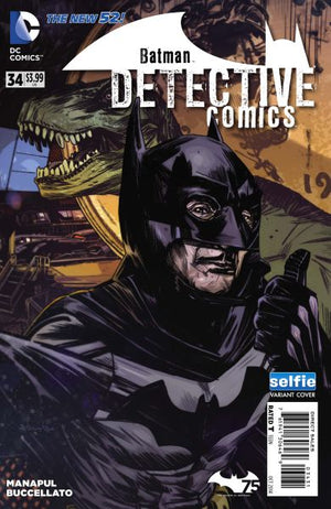 Detective Comics (The New 52) #34 DCU Selfie Variant