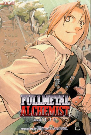 Fullmetal Alchemist - 3-in-1 Edition Volume 4