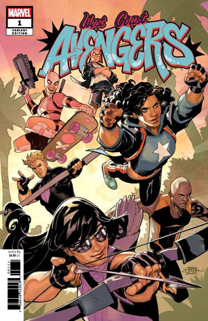West Coast Avengers (2018) #01 Terry Dodson Variant