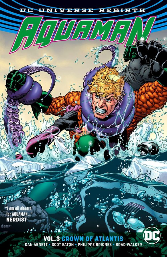 Aquaman (DC Universe Rebirth) Volume 3: Crown of Atlantis