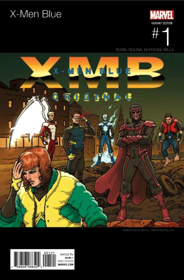 X-Men Blue #01 Hip-Hop Variant