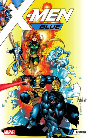 X-Men Blue (2017) Volume 0: Reunion