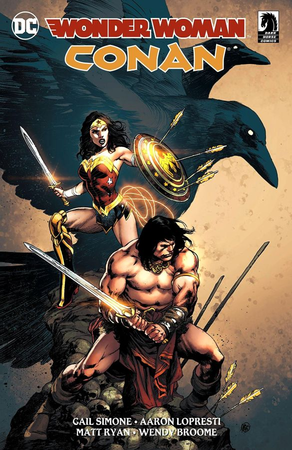 Wonder Woman / Conan (2017) HC