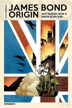 James Bond: Origin #01 Q & Boyd Cover