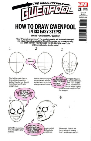 Gwenpool #21 How to Draw