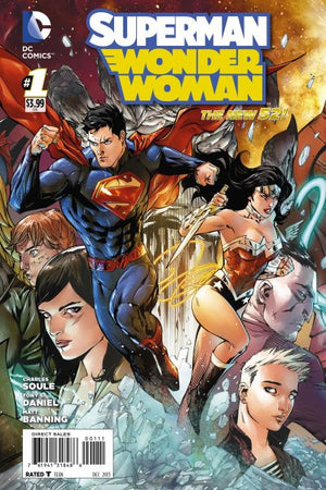 Superman / Wonder Woman (The New 52) #01