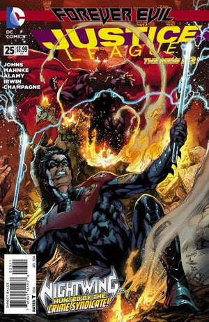 Justice League (The New 52) #25