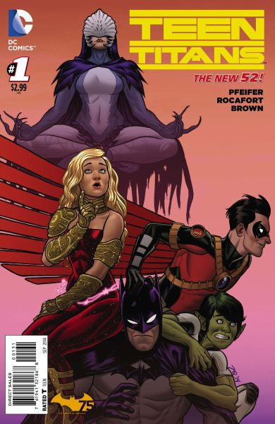Teen Titans (2014) #1 Batman Cover