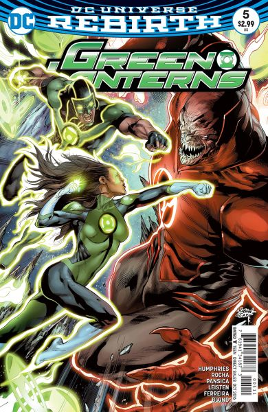 Green Lanterns (DC Universe Rebirth) #5