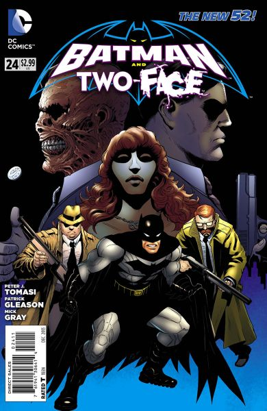 Batman and Two-Face (The New 52) #24