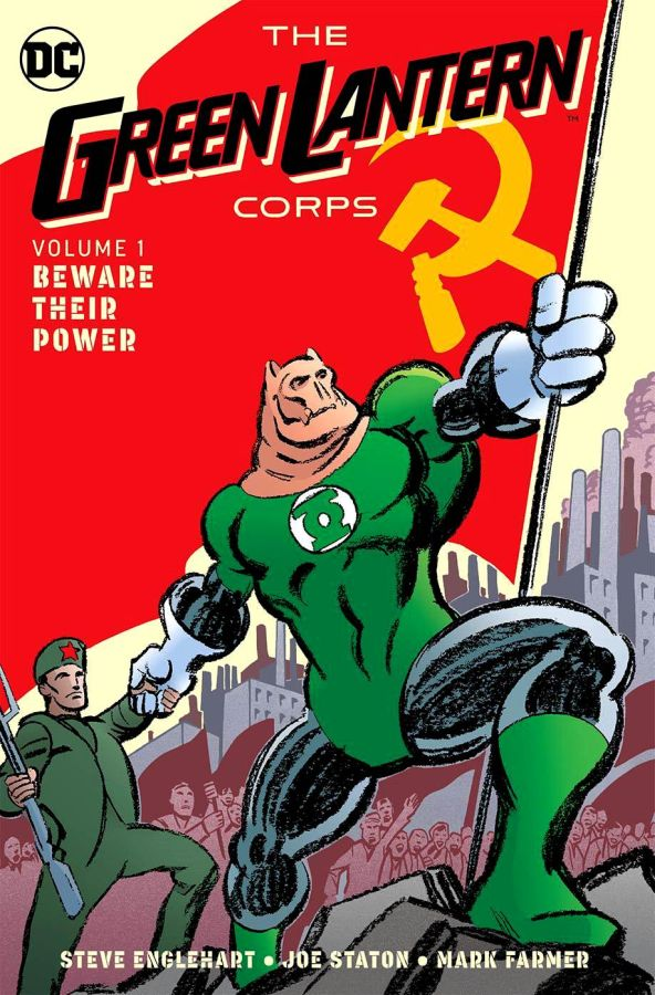 Green Lantern Corps Volume 1: Beware their Power HC