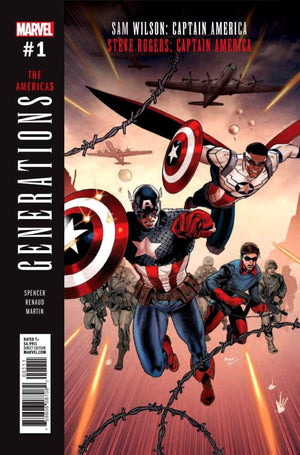Generations Captain #1 PR Cover