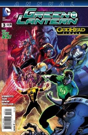Green Lantern (The New 52) Annual #3