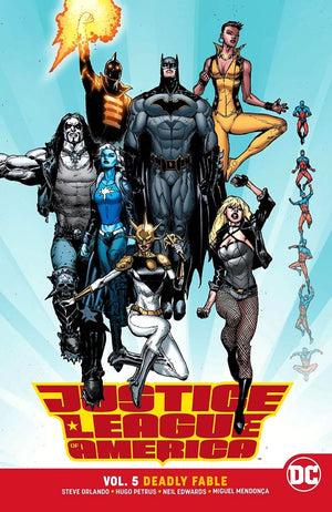 Justice League of America (DC Universe Rebirth) Volume 5: Deadly Fable