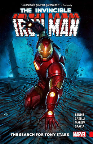 Invincible Iron Man (2016): The Search for Tony Stark