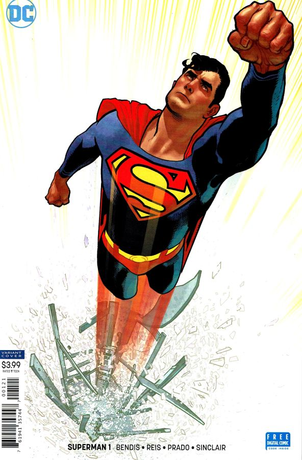 Superman (2018) #01 Adam Hughes Cover