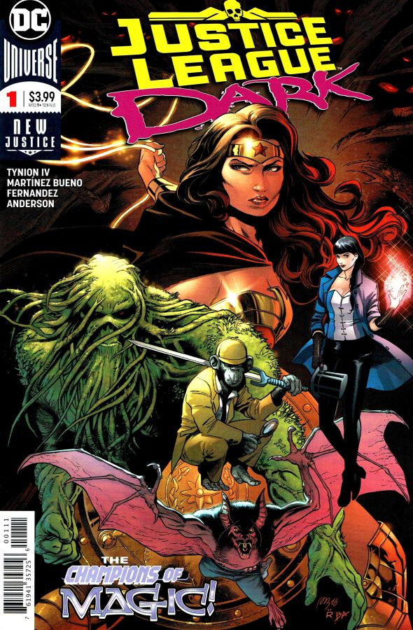 Justice League Dark (2018) #01