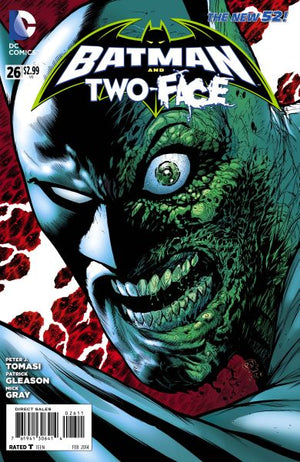 Batman and Two-Face (The New 52) #26
