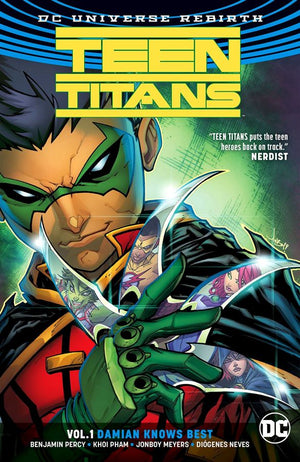 Teen Titans (DC Universe Rebirth) Volume 1: Damian Knows Best