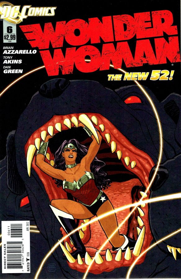 Wonder Woman (The New 52) #06