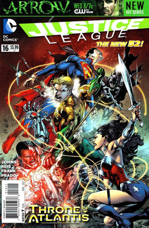 Justice League (The New 52) #16