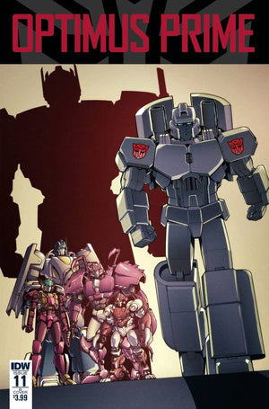 Optimus Prime #11 Coller Cover