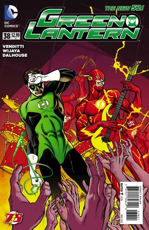 Green Lantern (The New 52) #38 The Flash 75th Anniversary Variant