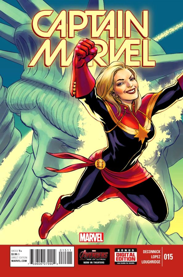 Captain Marvel (2014) #15