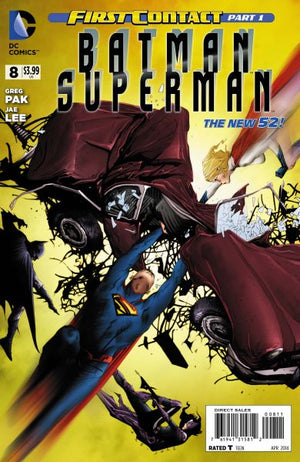 Batman / Superman (The New 52) #08