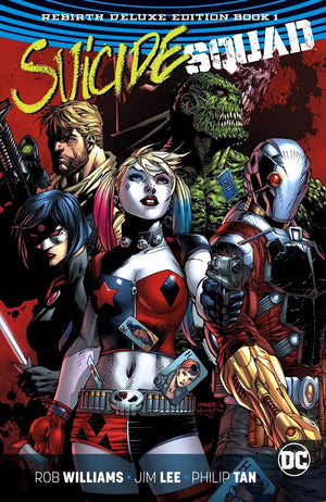 Suicide Squad - The Rebirth Deluxe Edition Book 1 HC