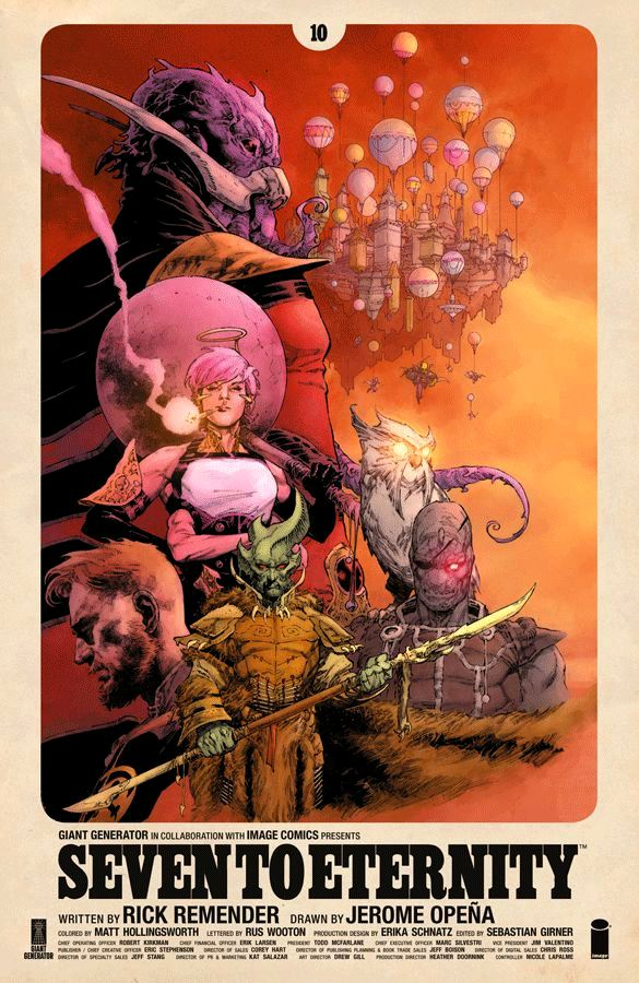 Seven to Eternity (2016) #10
